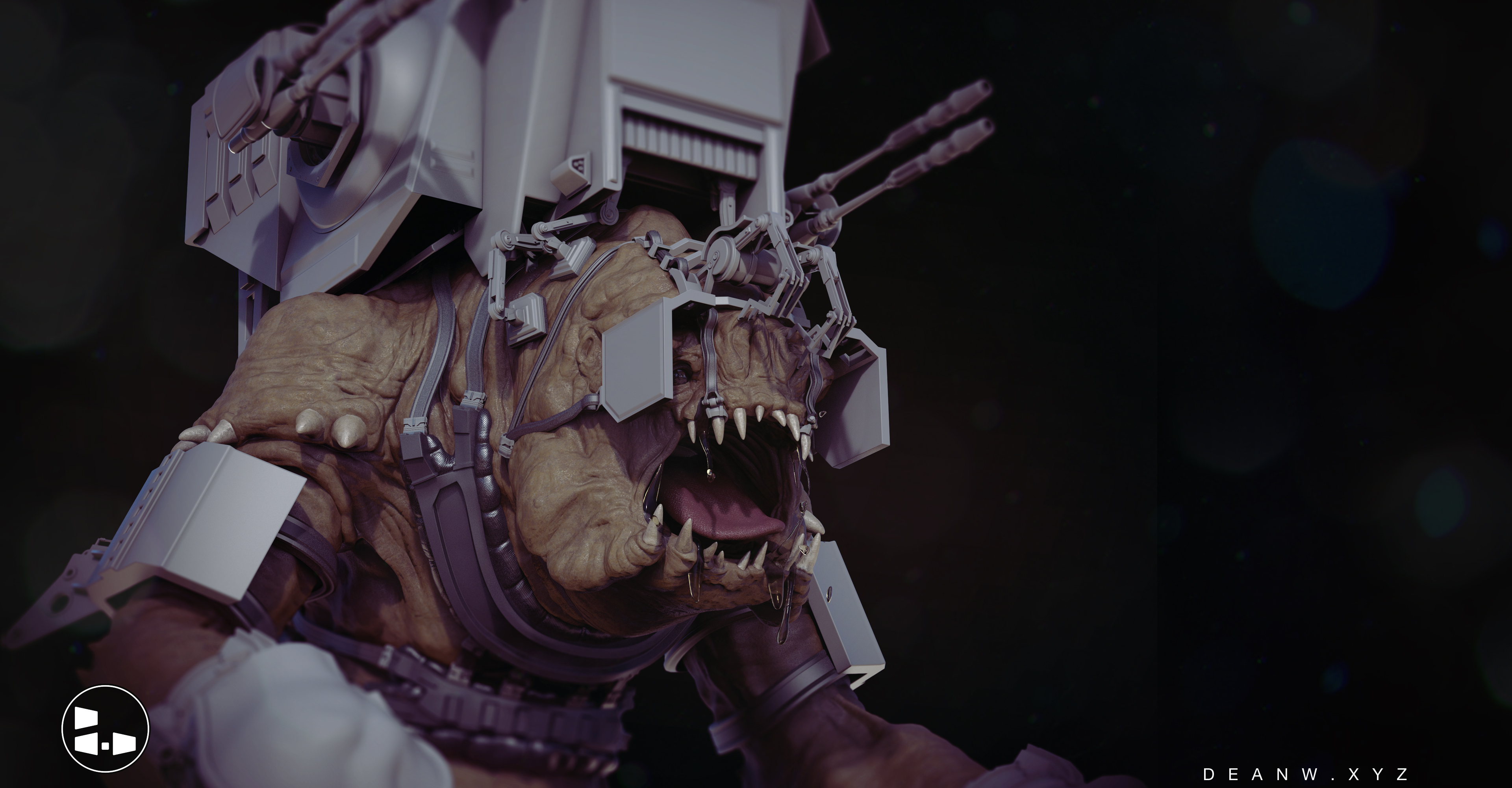 Battle Rancor Concept
