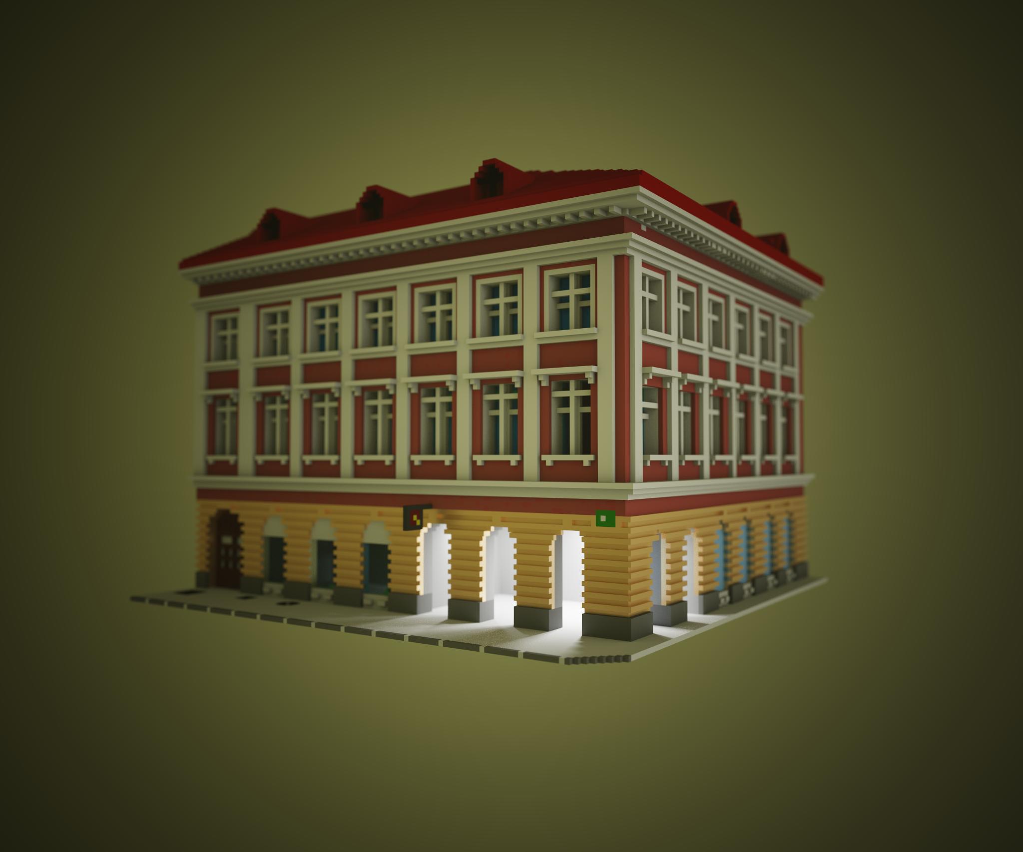 Voxel city