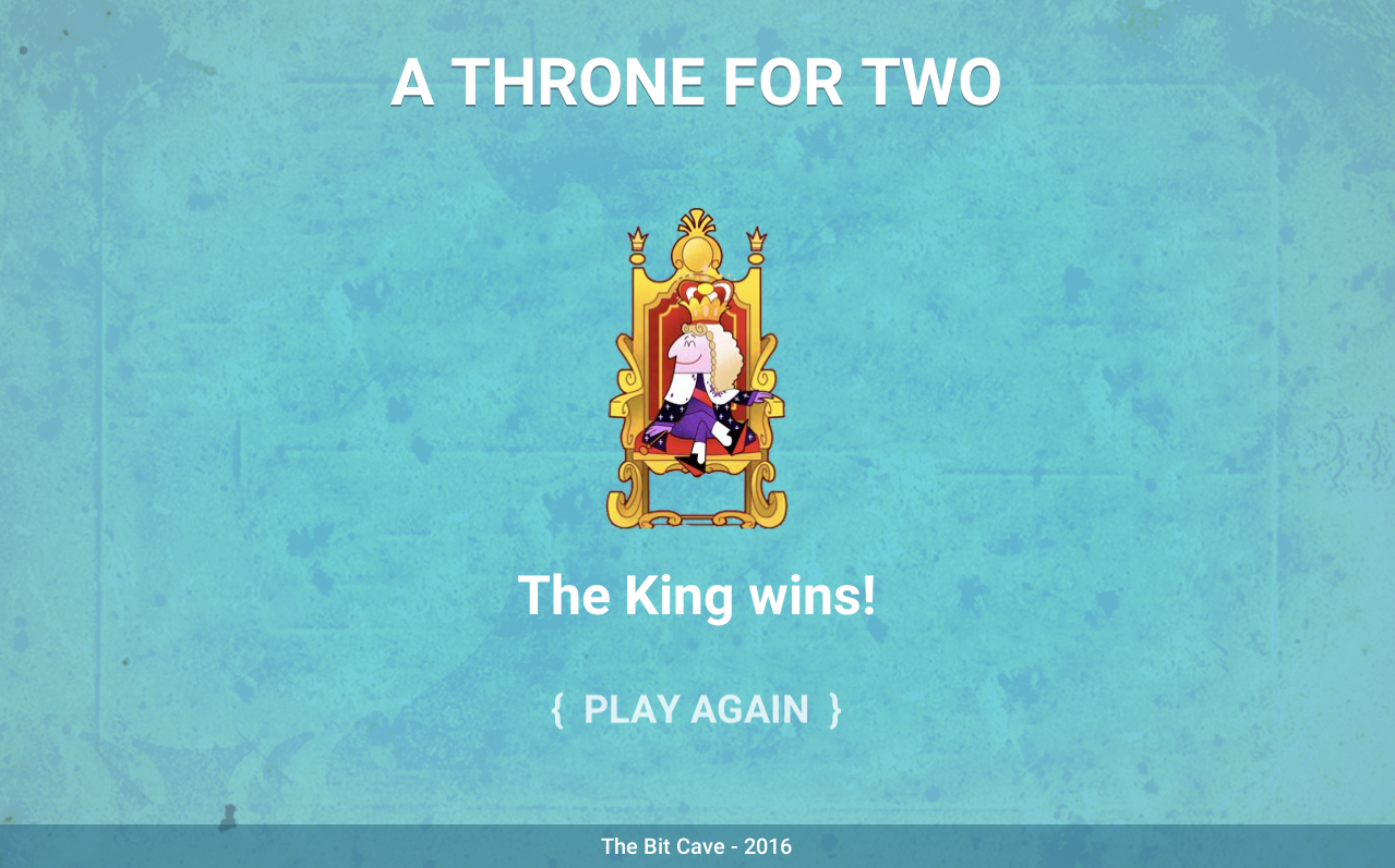 A Throne For Two
