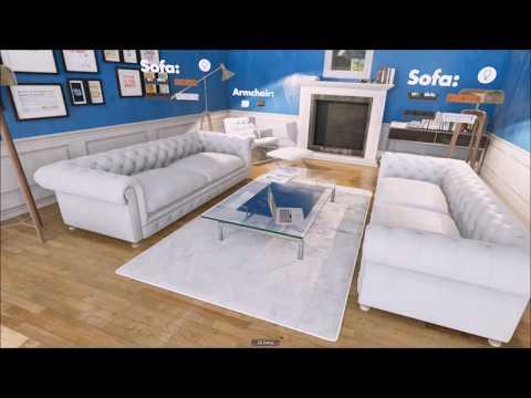VR Interior design Interactive Experience