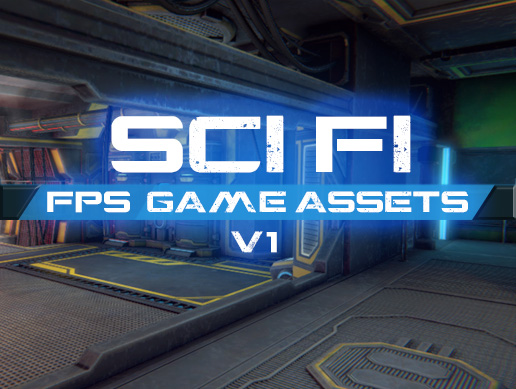 FPS/Survival Sci-Fi Game Assets (available on assetstore)