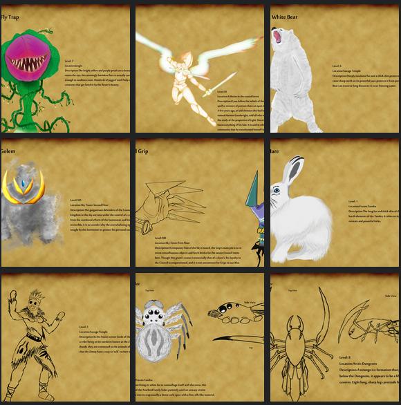 Concept Artist- Cadalion Online
