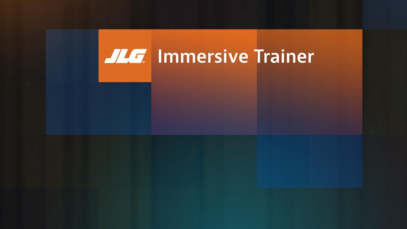 JLG Immersive Trainer