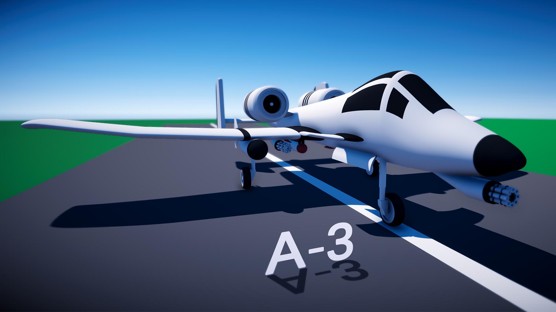 A-3 Military Jet