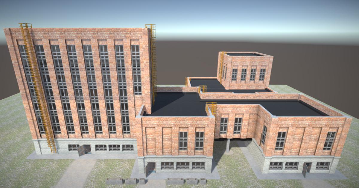 Modular factory environment D