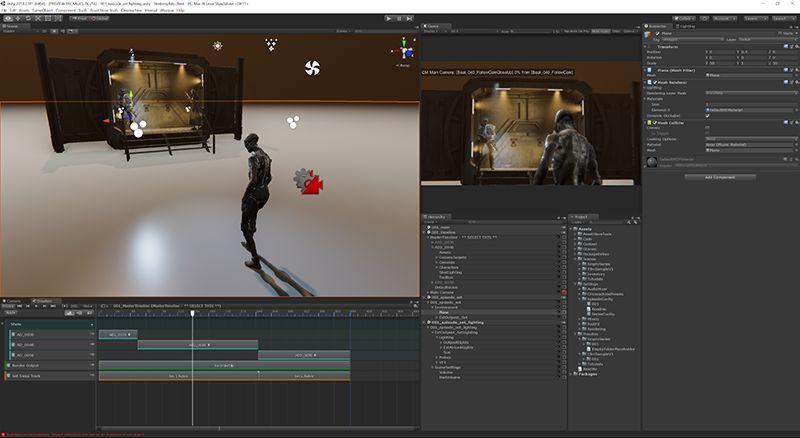 Unity影视动画示例项目发布