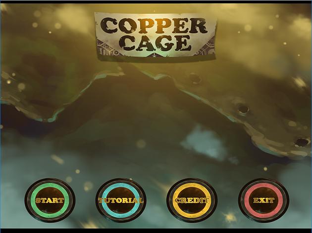 Copper Cage