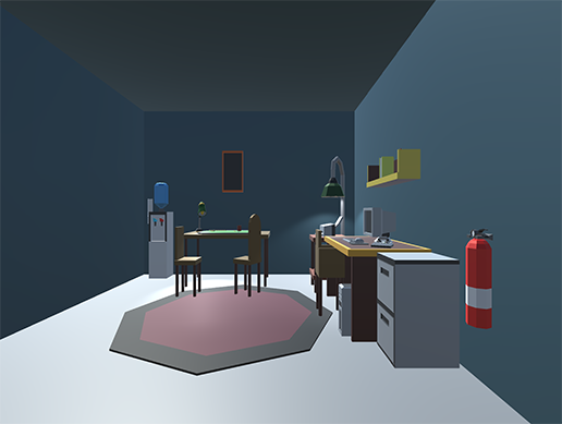 Low Poly Office Pack