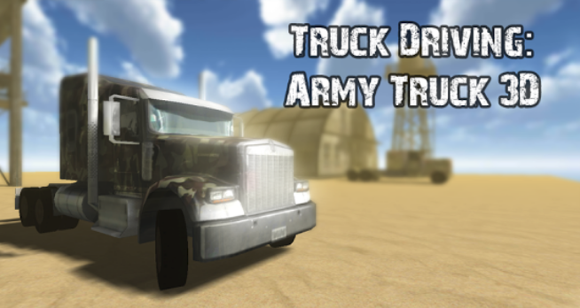 Truck Driving: Army Truck 3D