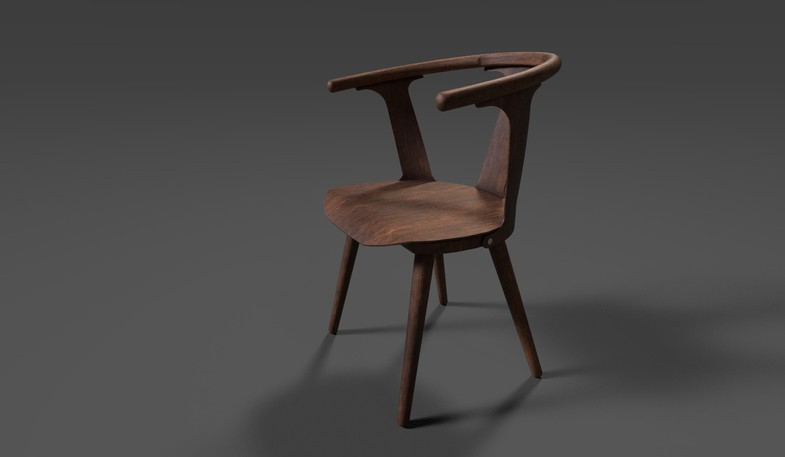 Unity Asset Store:PBR SK1 Chair