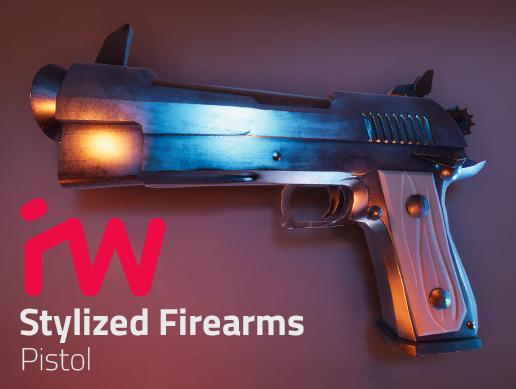 Stylized Pistol