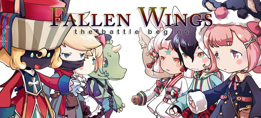 Fancy Dolls_ Fallen Wings