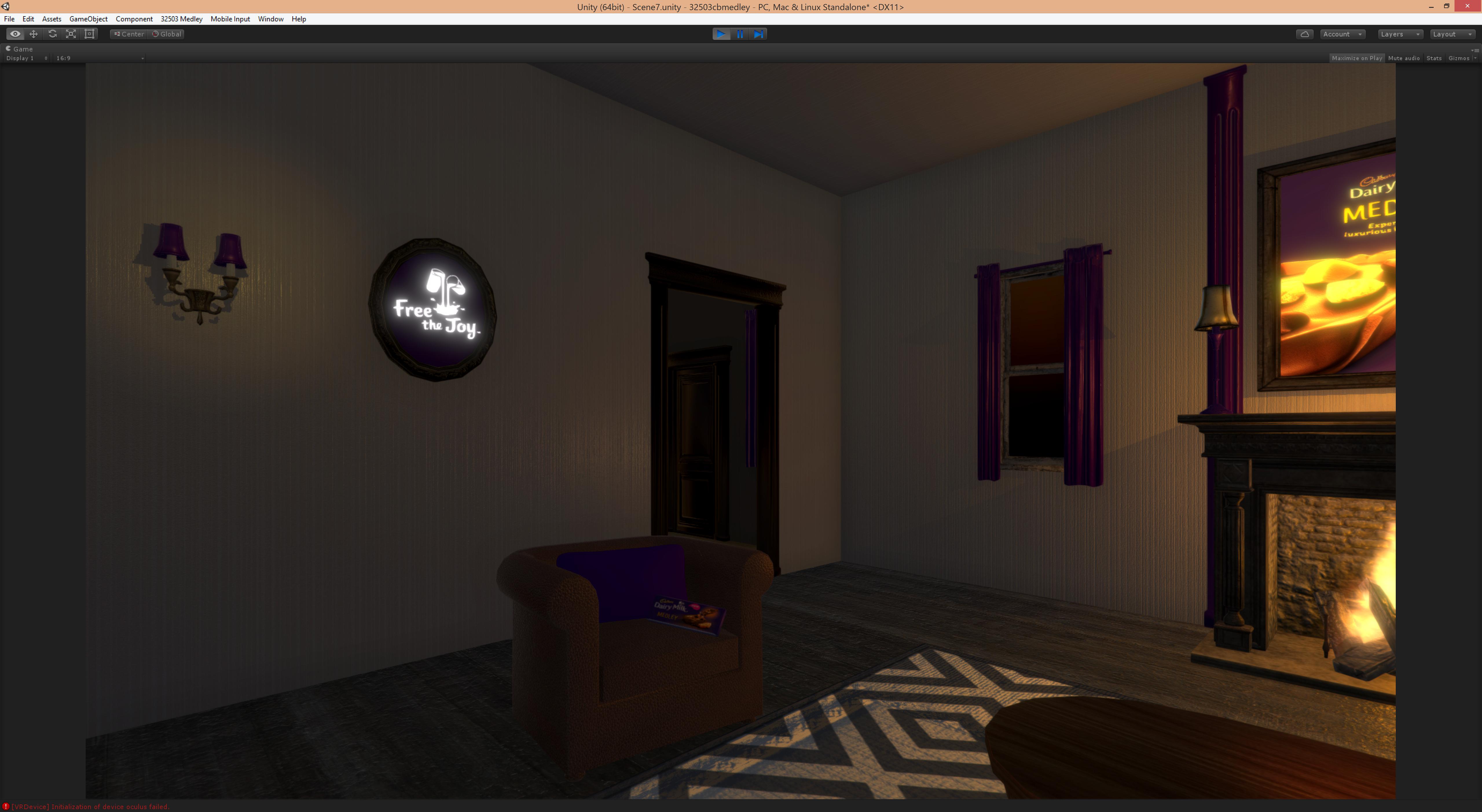 Immersive VR Room