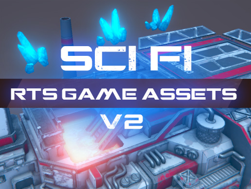 RTS Sci-Fi game assets v2 (coming soon on assetstore)