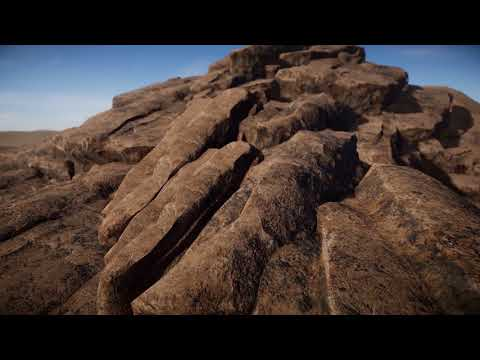 Skye Gnarly Rock Asset Pack