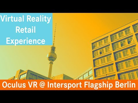 VR Retail Experience Intersport Digital Germany