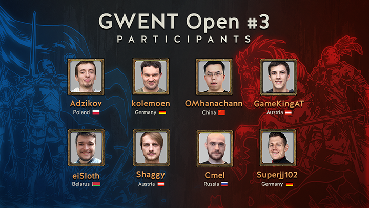 GWENT Open #3 date and participants announced!