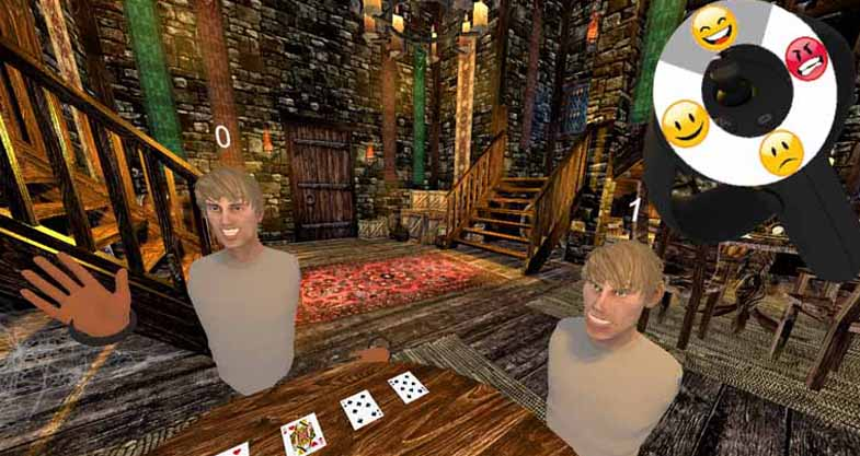 VR tabletop games