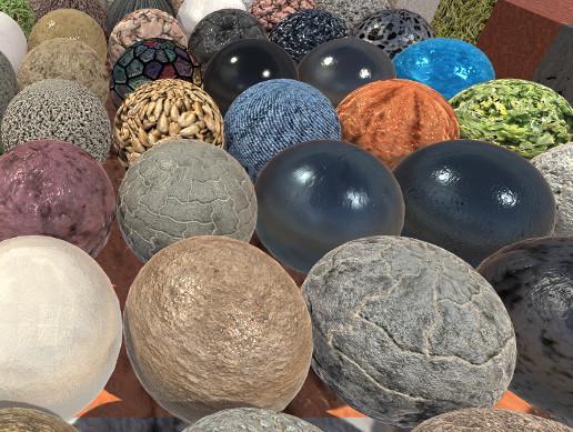 MEGA PBR Materials Pack