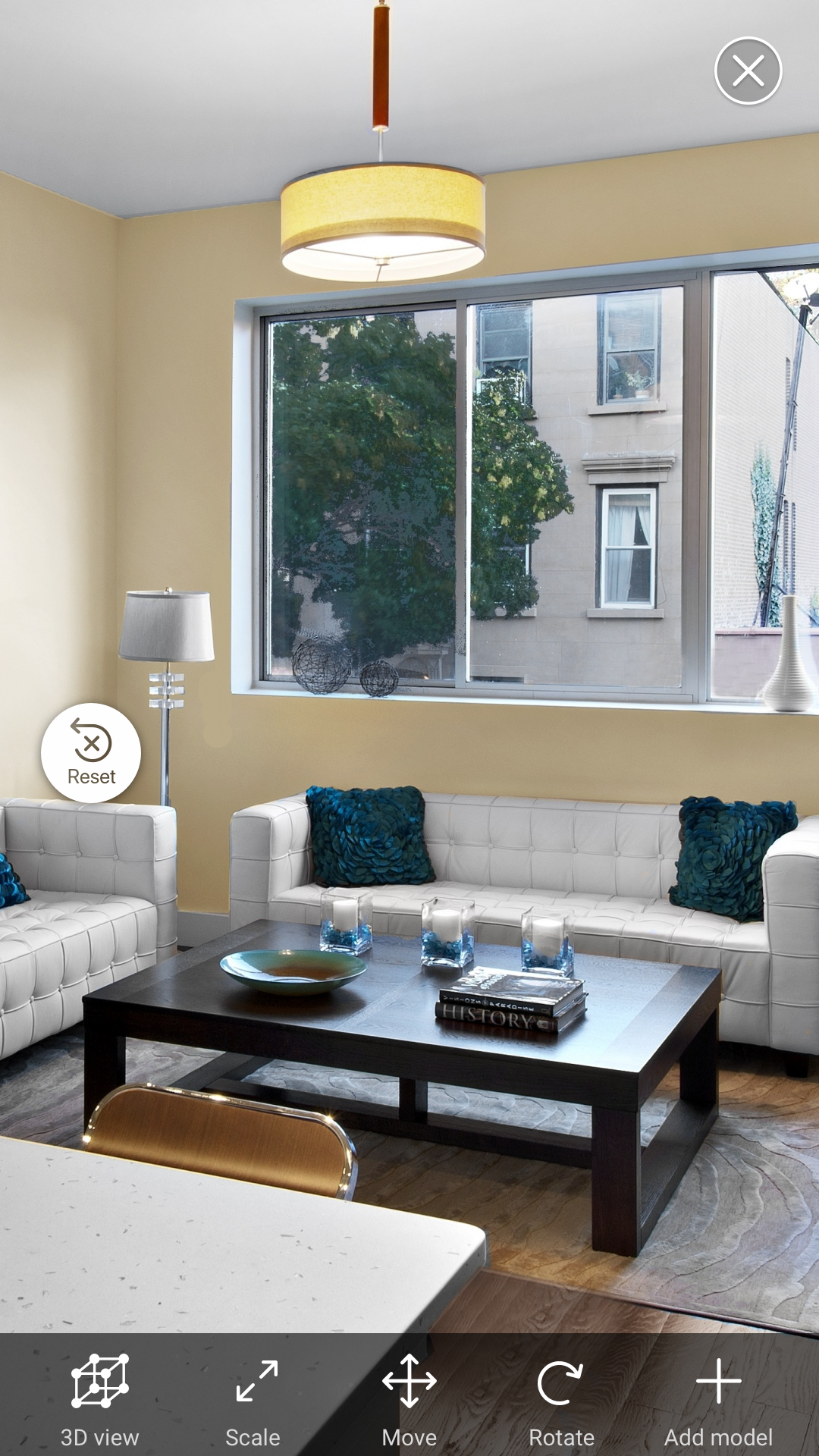 Augmented Reality for Interior Design