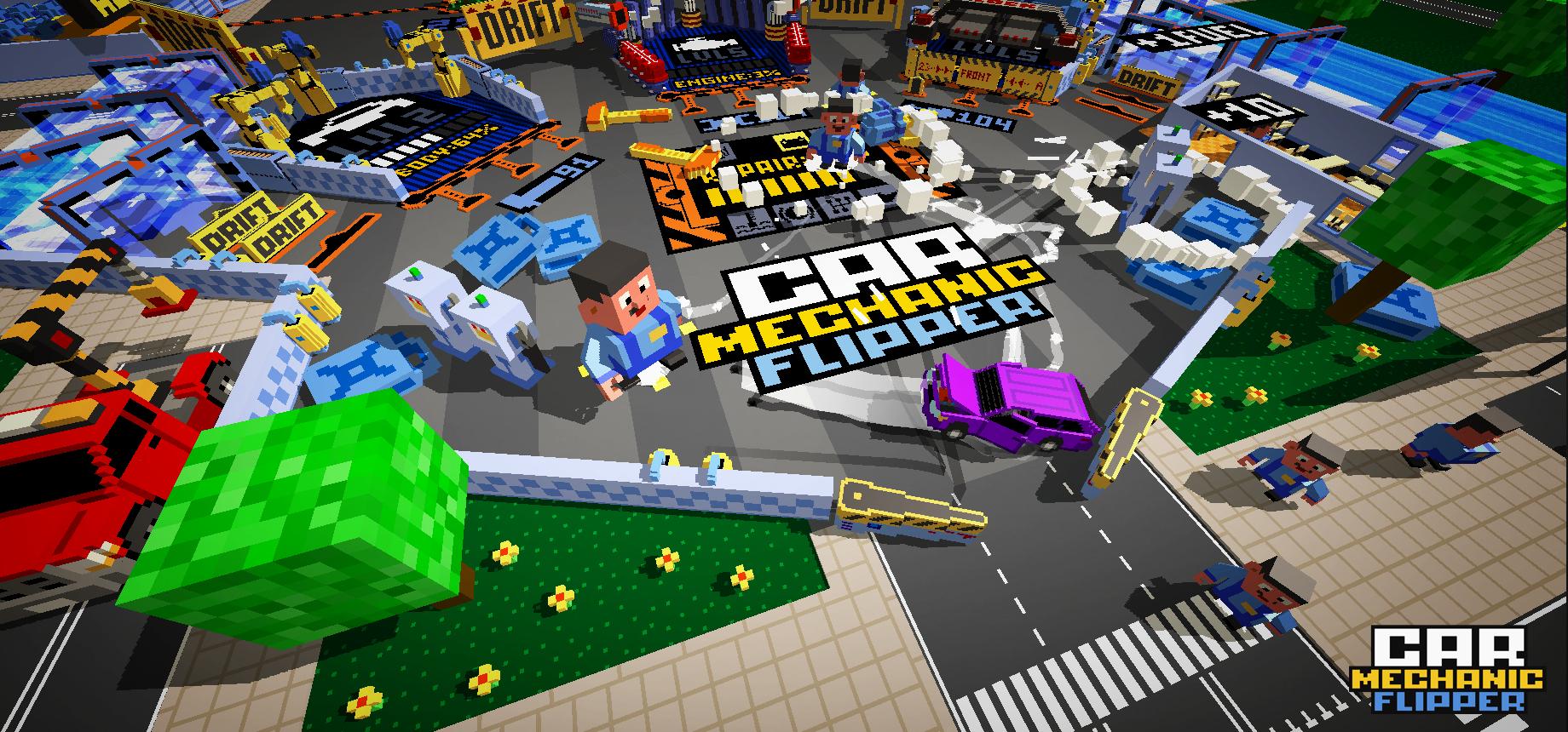 Car Mechanic Flipper