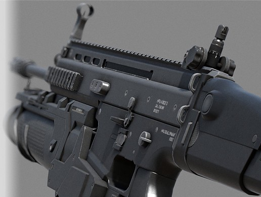 Assault Rifle - SpecOps Forces Combat Assault Rifle