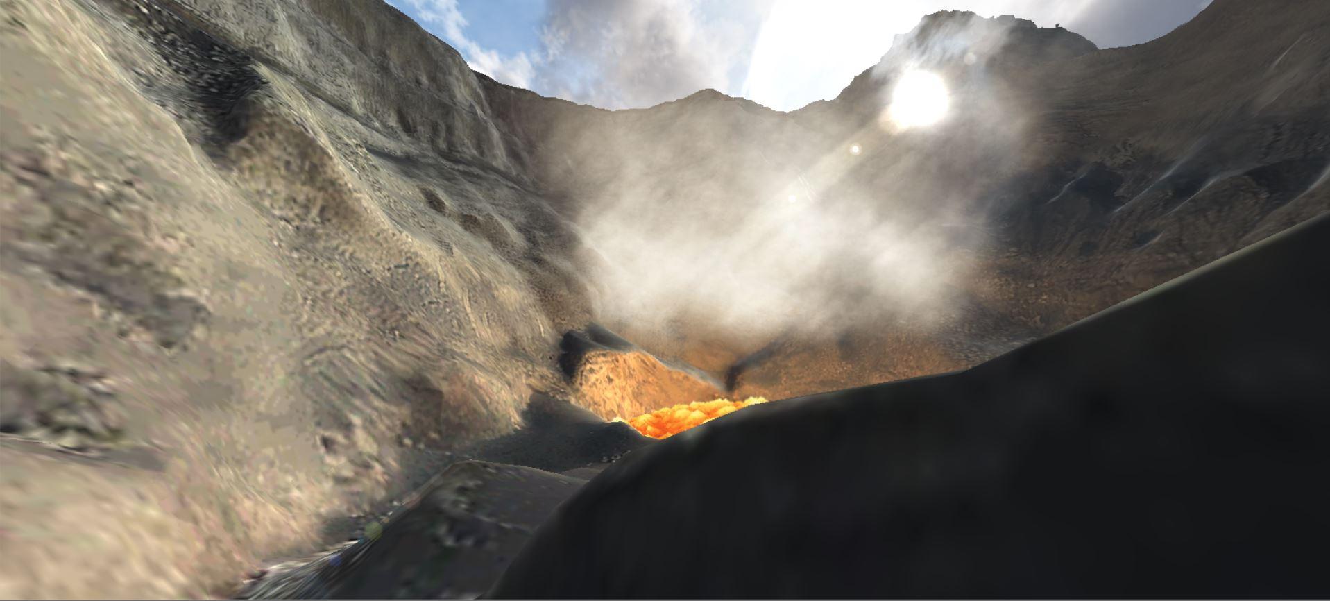 Volcano DiVR