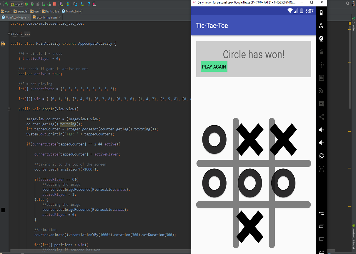 Tic-Tac-Toe - Android