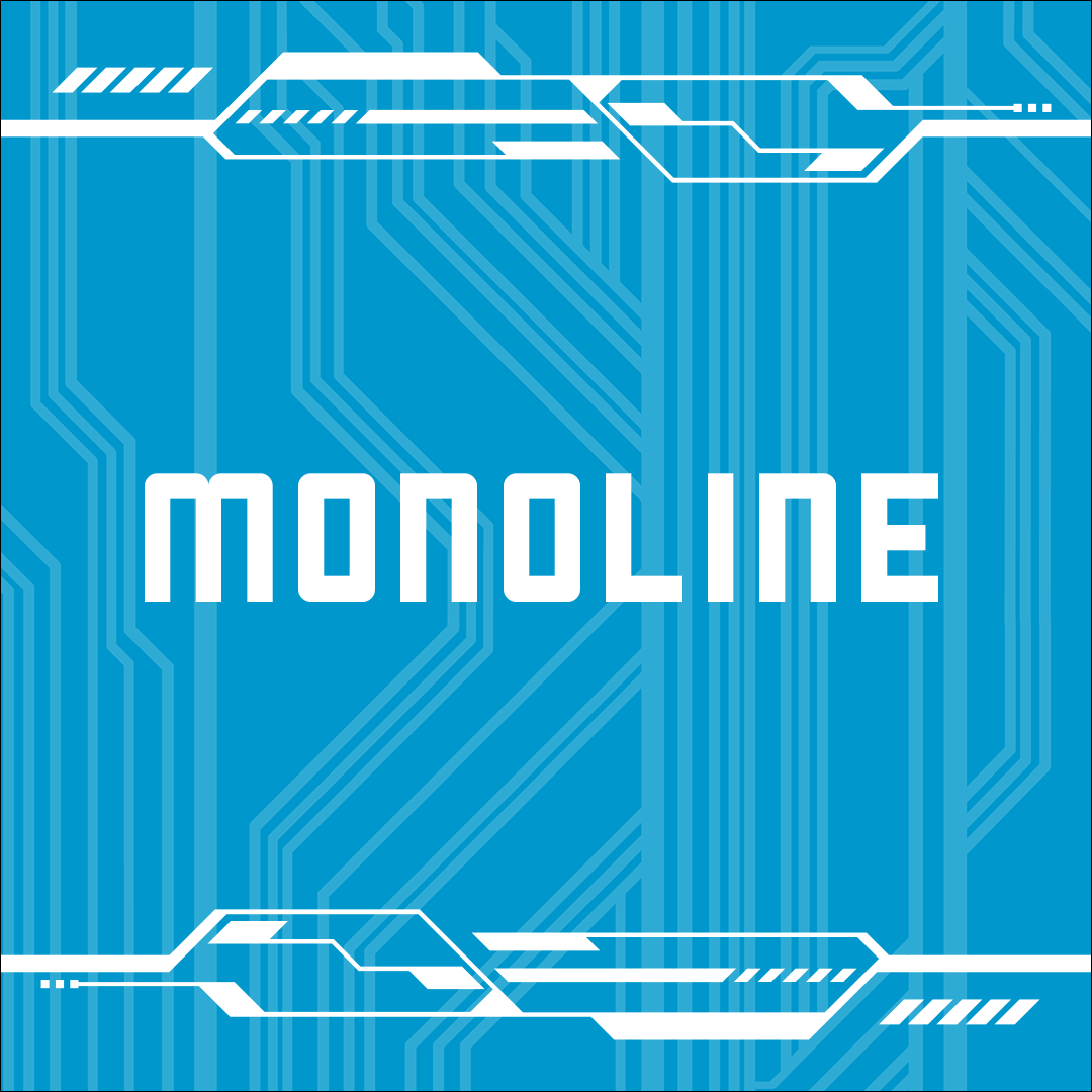 MONOLINE - vector stylised game graphics