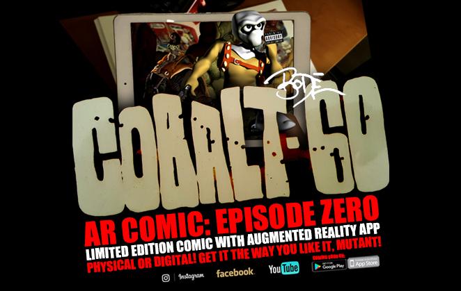 Cobalt 60 AR Comic Book