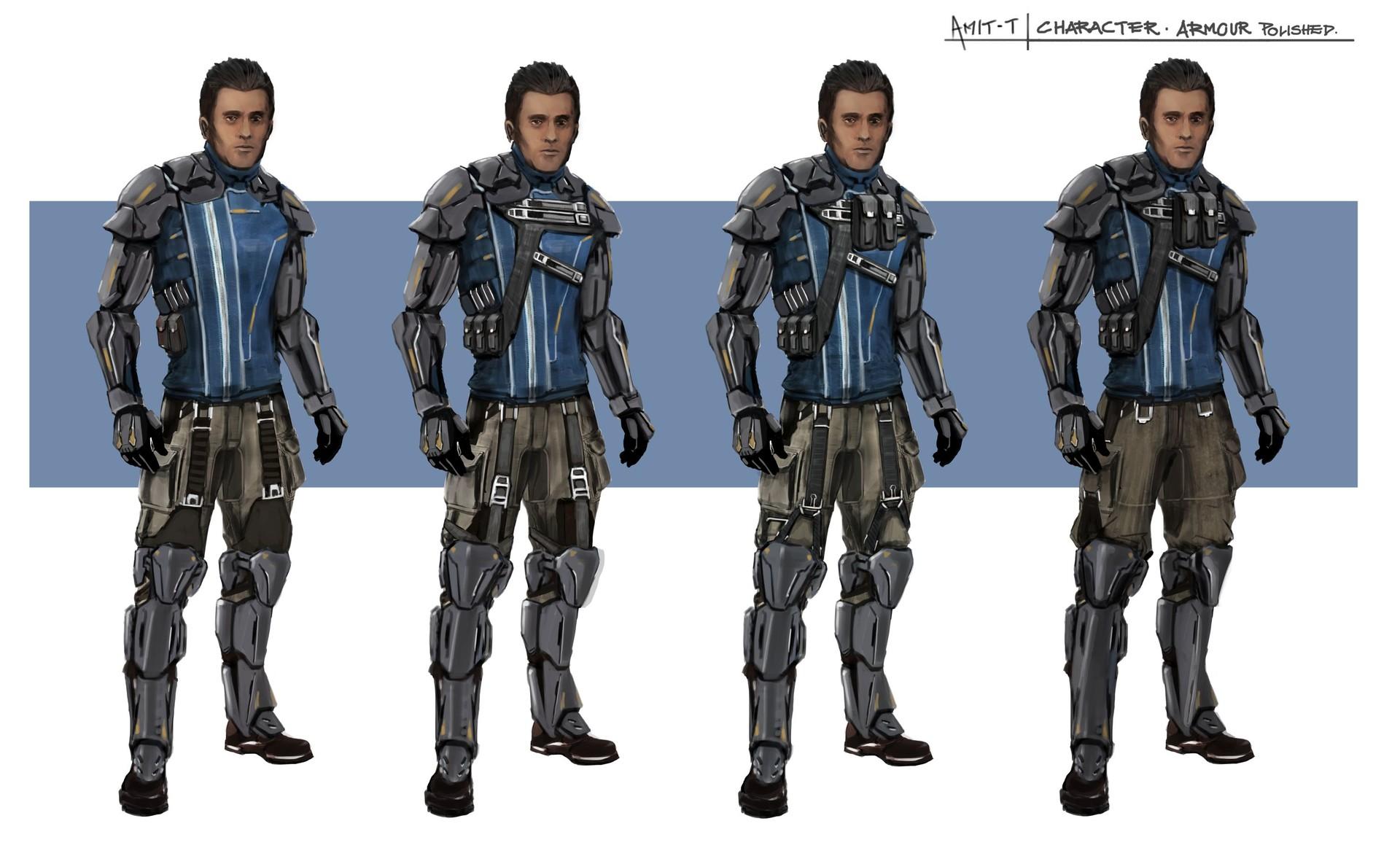 Sci Fi character costume design