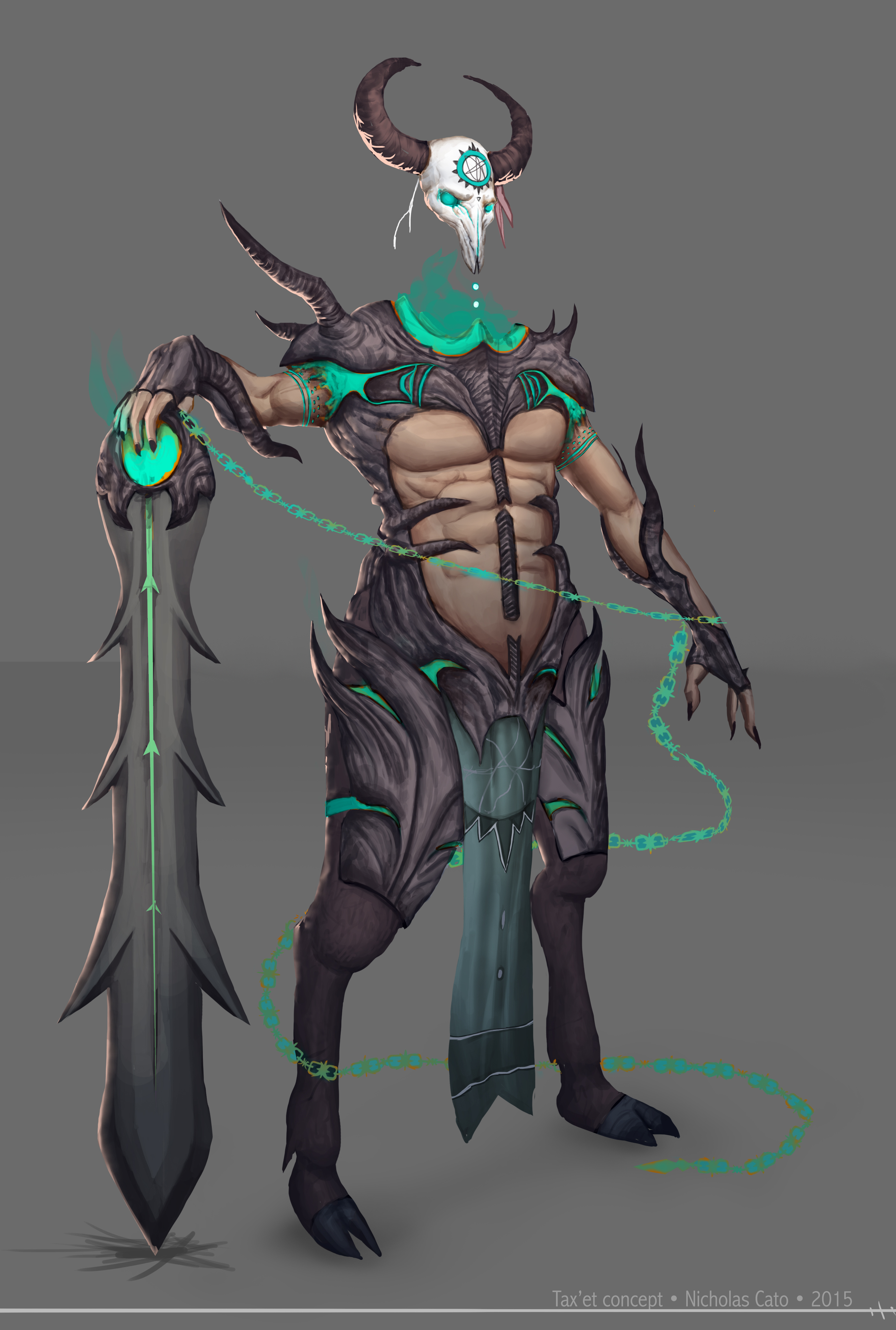 Moba Death god character
