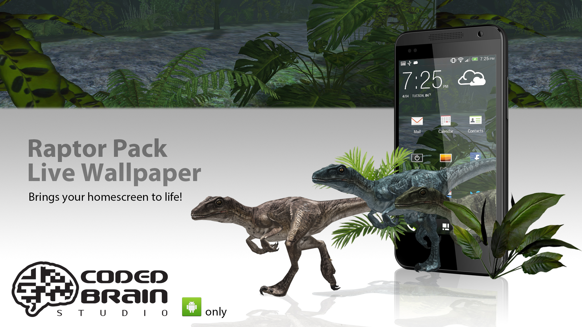Raptor Pack Live Wallpaper