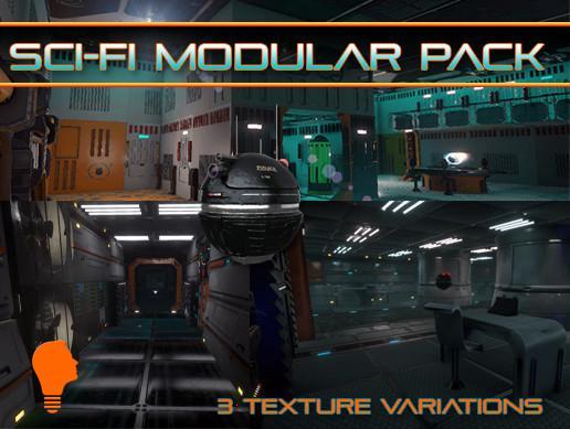 Sci-Fi Modular Pack