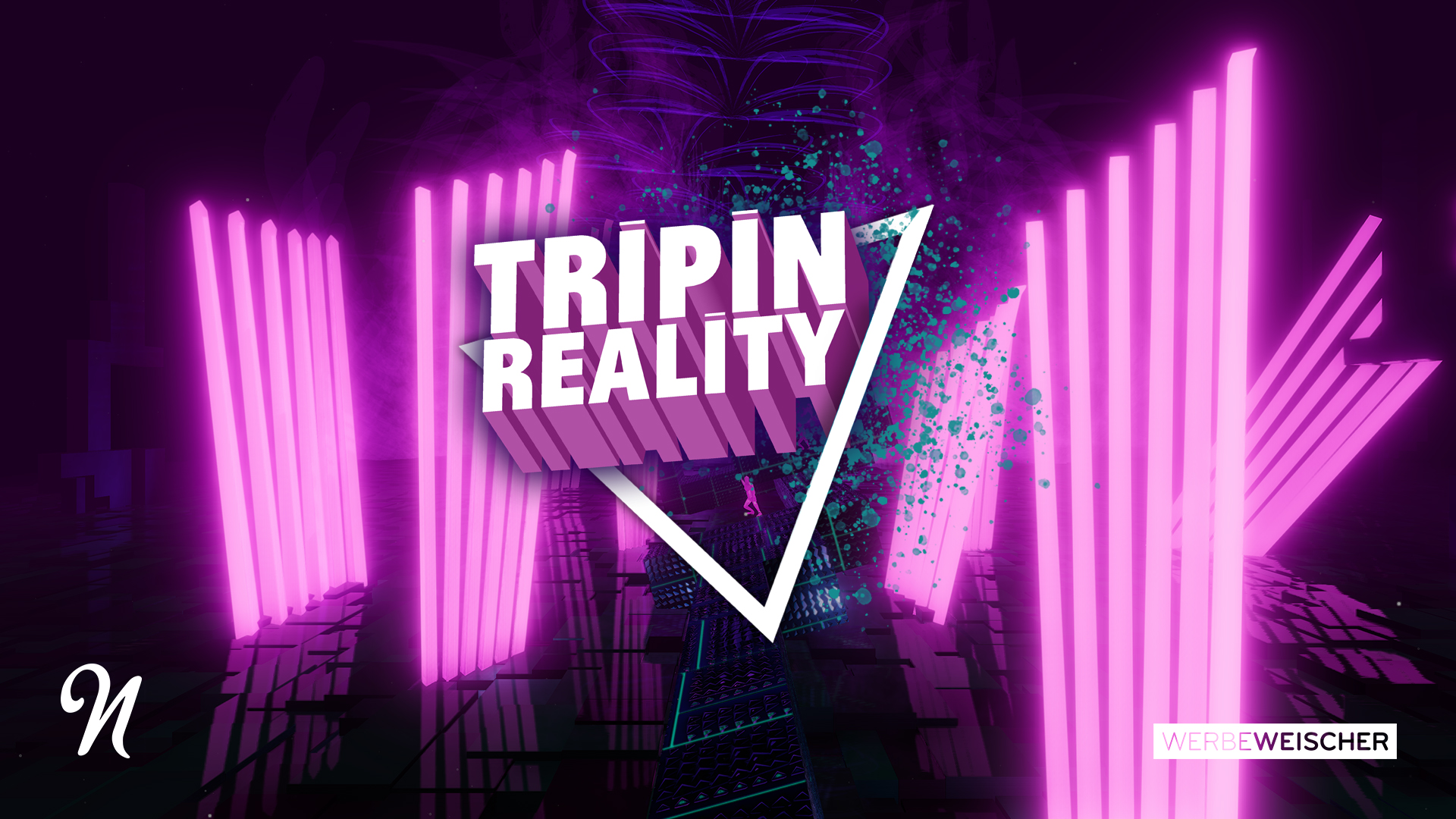 Tripin Reality: A Journey Through An Audio Reactive Landscape