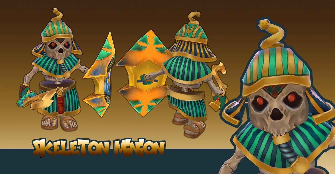 Temple Minions