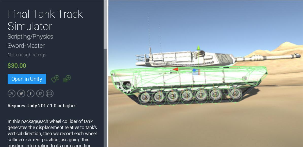 Final Tank Track Simulator