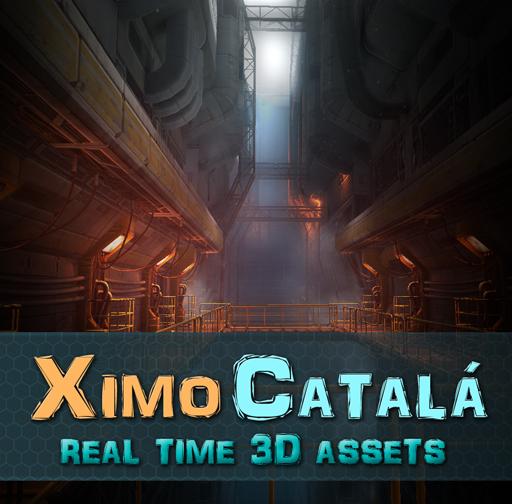 Sci-Fi / Industrial Level Kit