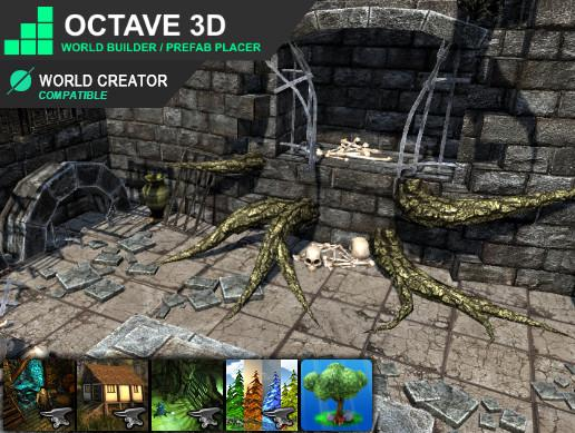 Octave3D (World Builder/Prefab Placer)