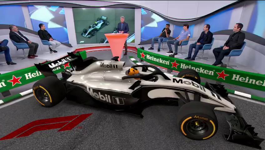 Virtual Ad in Live Tv Show