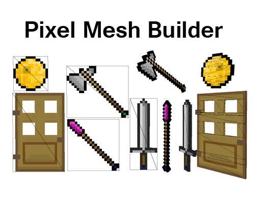Pixel Mesh Builder
