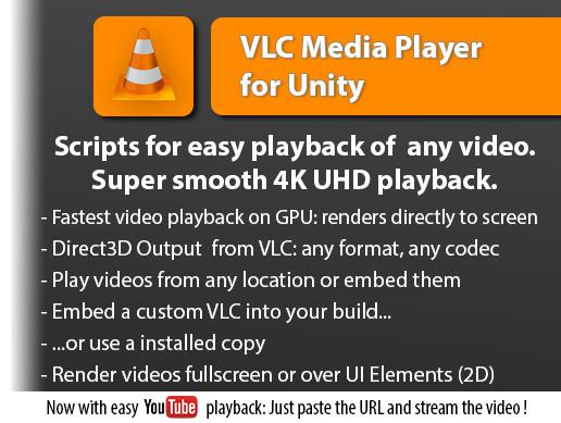 VLC for Unity