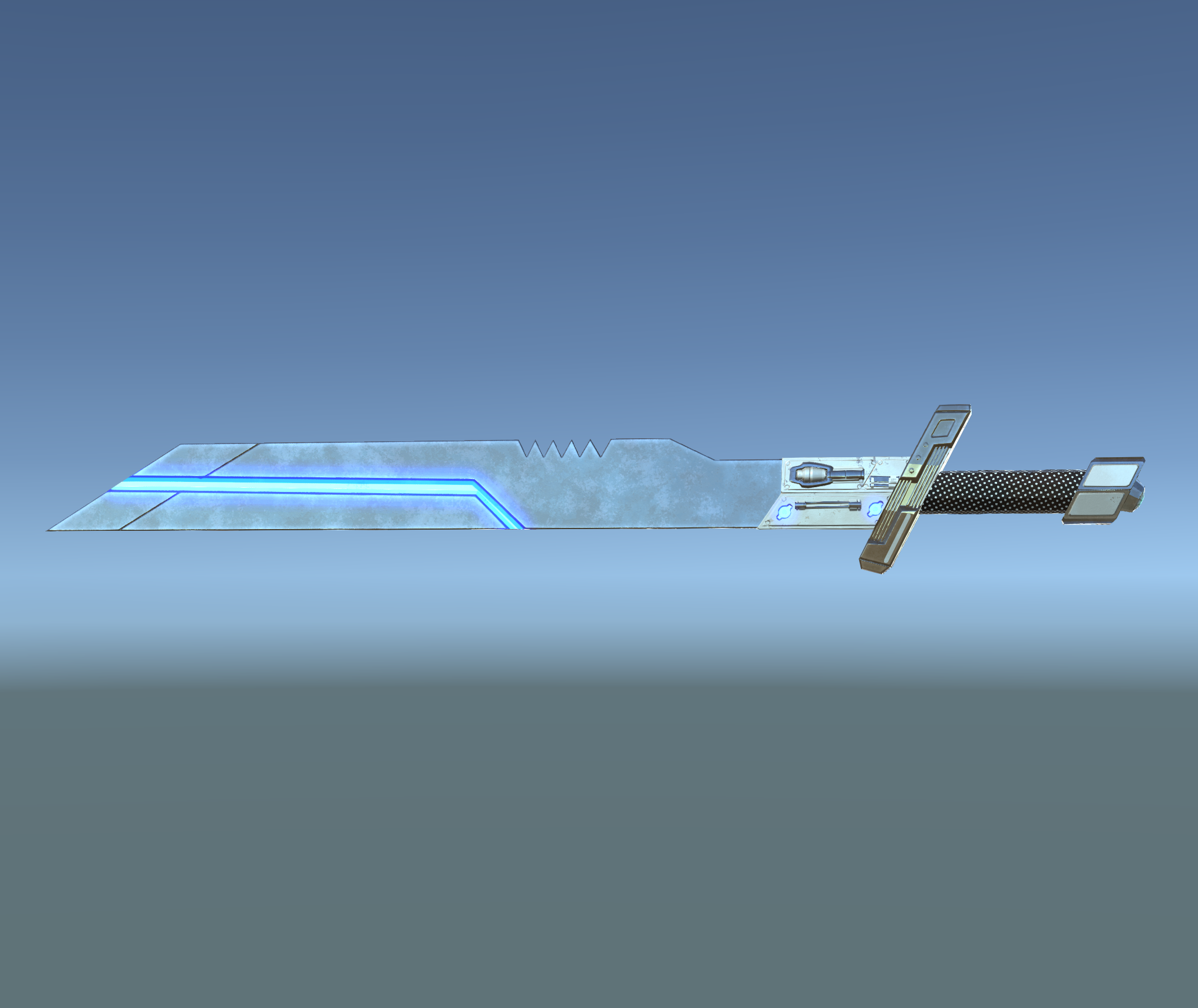 Sci-fi melee weapons pack
