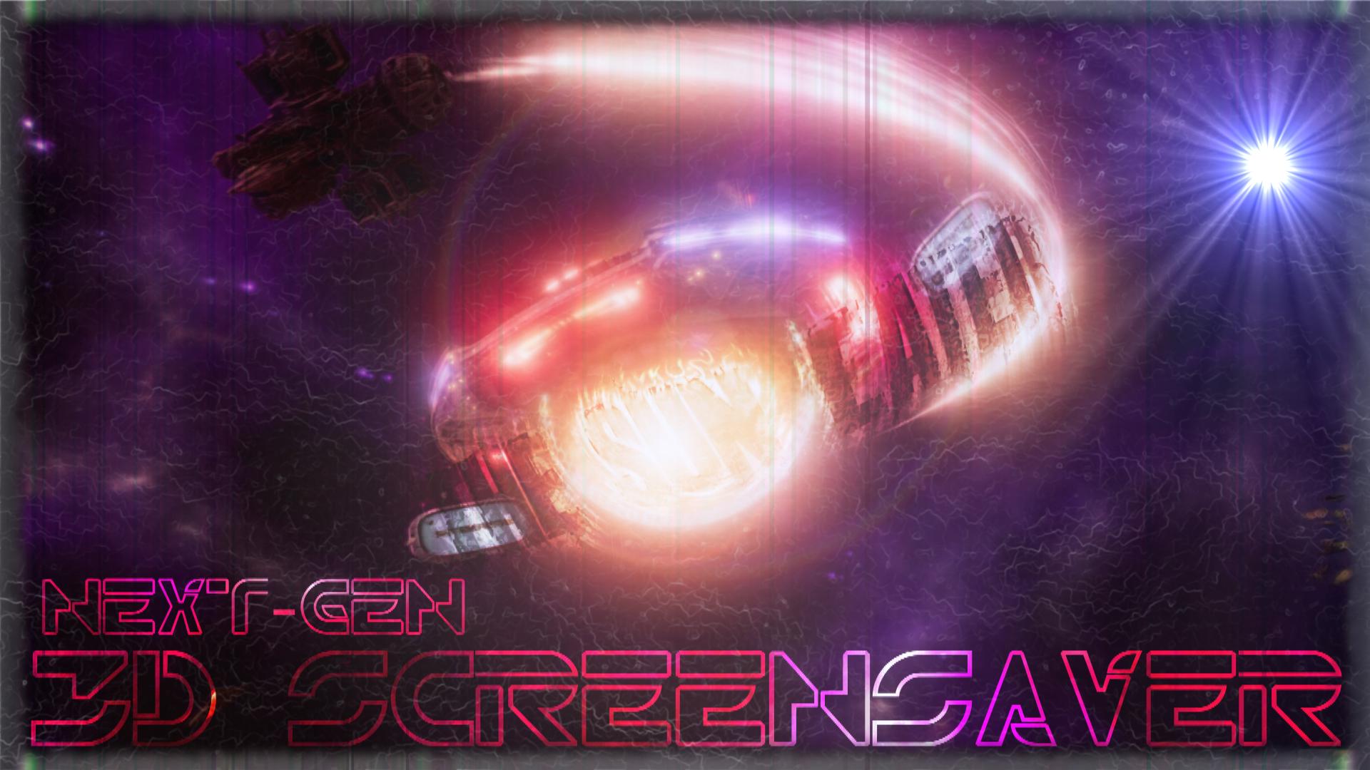 0$+ Next-Gen ScreenSaver : The Sun Eater