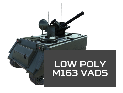 Low Poly M163 VADS Incoming!