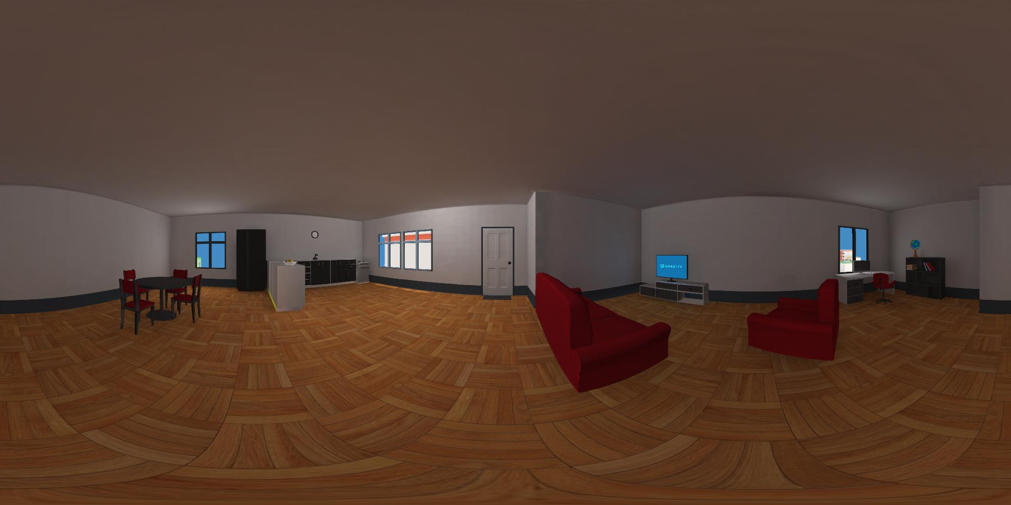 Unity Low Poly VR Apartment