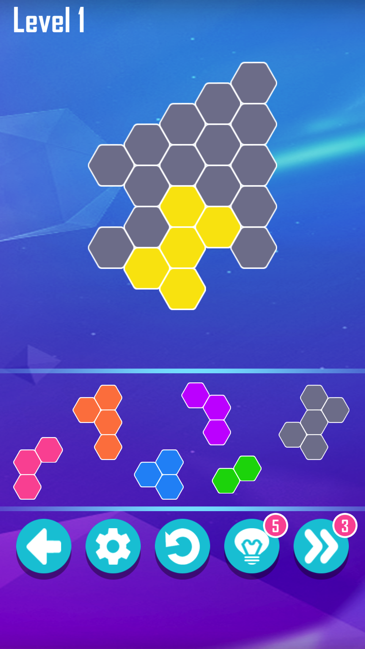 Hexa Block! Puzzle Master