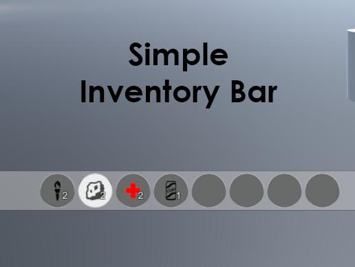 Simple Inventory Bar