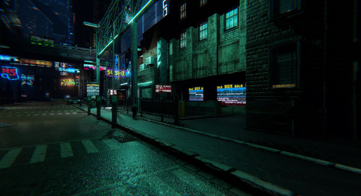 NeoCity 2049 - Neon Challenge