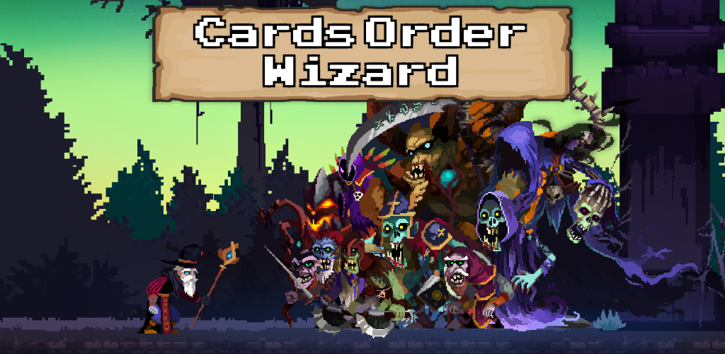 [MWU Korea '18] Cards Order Wizard : Solitaire Puzzle RPG